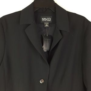 NY&CO Black Blazer NWT size 16